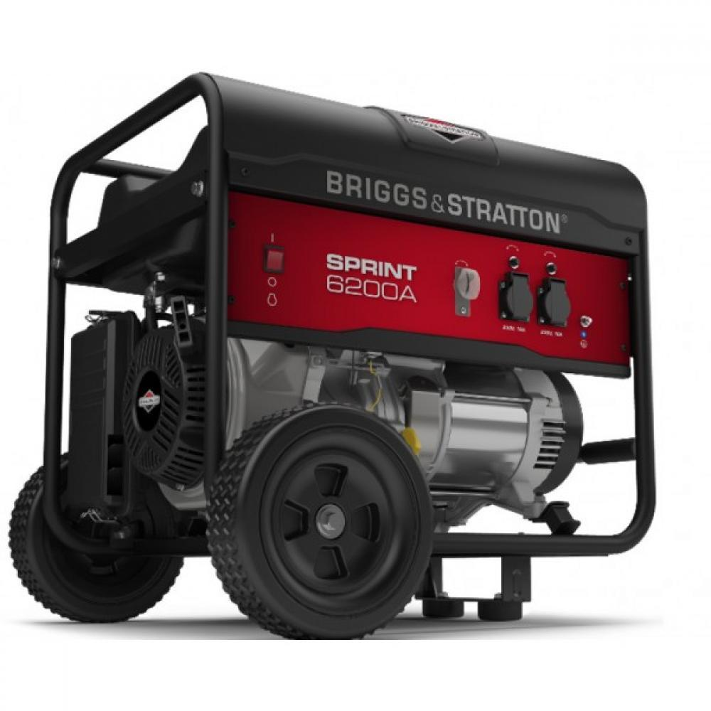 Генератор бензиновый Briggs&Stratton Sprint 6200A  генератор бензиновый briggs