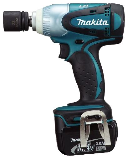 Аккумуляторный ударный гайковерт Makita DTW250RME  винтоверт ударный аккумуляторный makita dtd147rfe