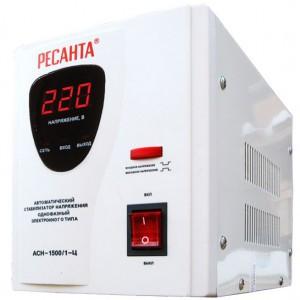 Стабилизатор Ресанта АСН-1500/1-Ц ресанта асн 120001 ц релейный в москве
