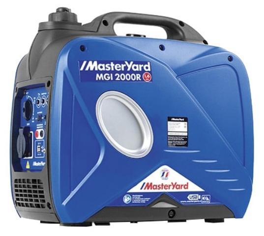 все цены на  Генератор бензиновый MasterYard MGI 2000R  онлайн