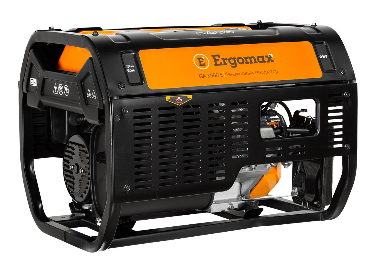 Генератор бензиновый Ergomax GA 3500 Е  генератор бензиновый ergomax ga 950 s2