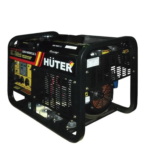 Электрогенератор Huter LDG14000CLE-3  электрогенератор huter dy3000l