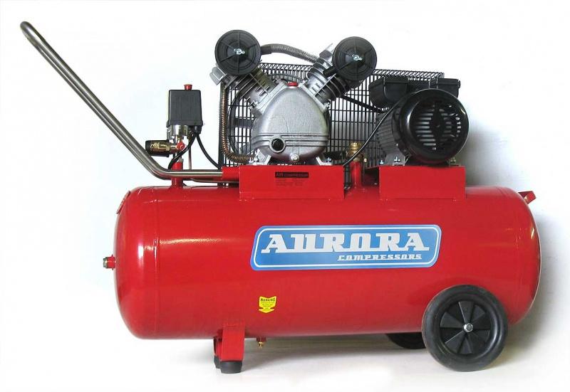 Воздушный компрессор Aurora Cyclon-100  воздушный компрессор aurora gale 50