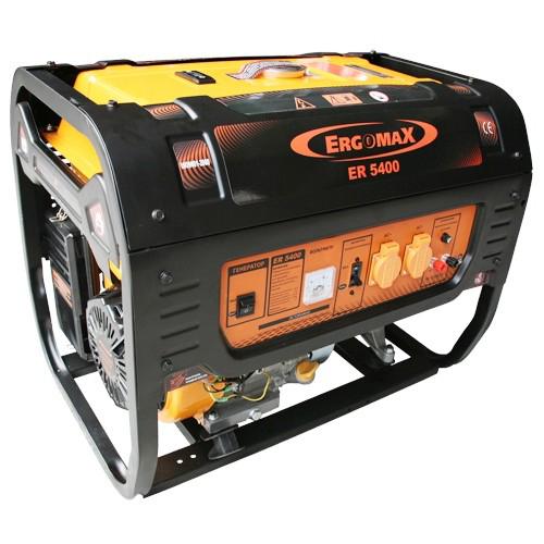 Генератор бензиновый Ergomax ER 5400 генератор бензиновый ergomax er 7800 3