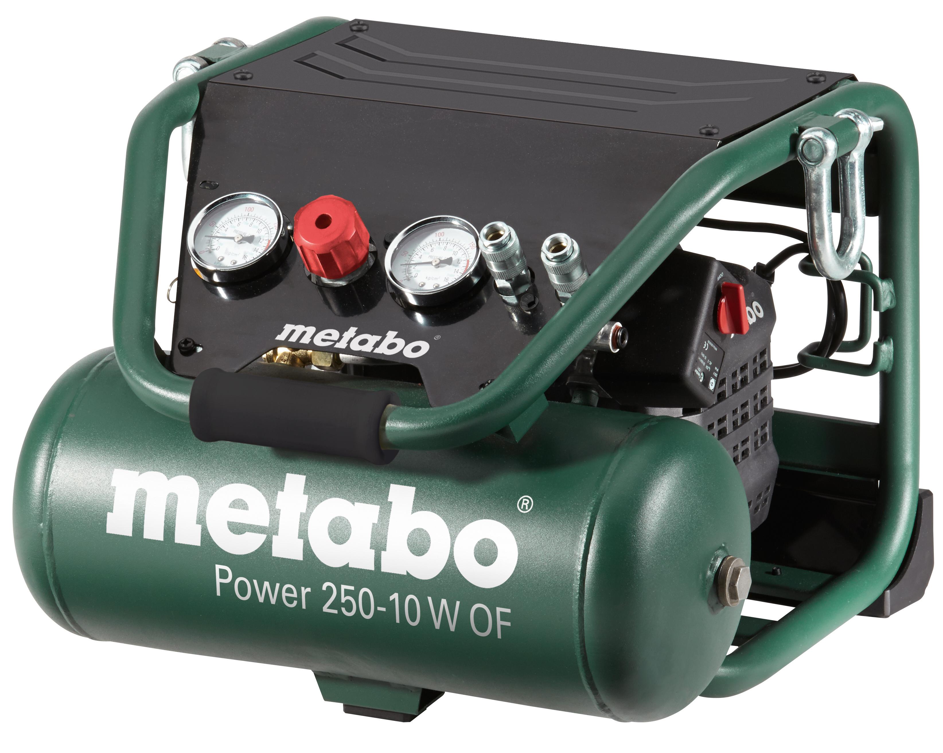 Компрессор Metabo Power 250-10 W OF  масляный компрессор metabo basic250 24w 601533000