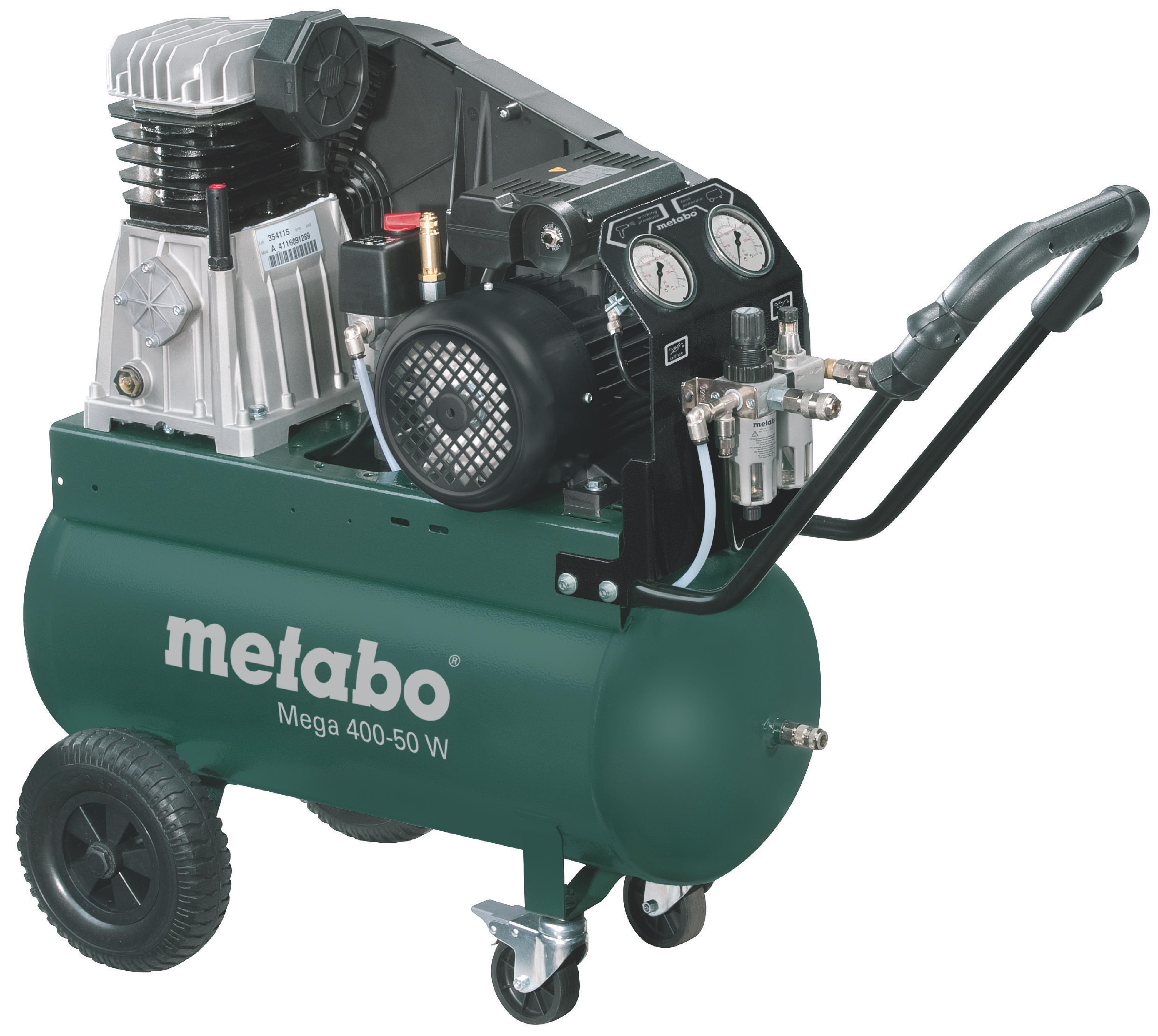 Компрессор ременной Metabo Mega 400-50 W