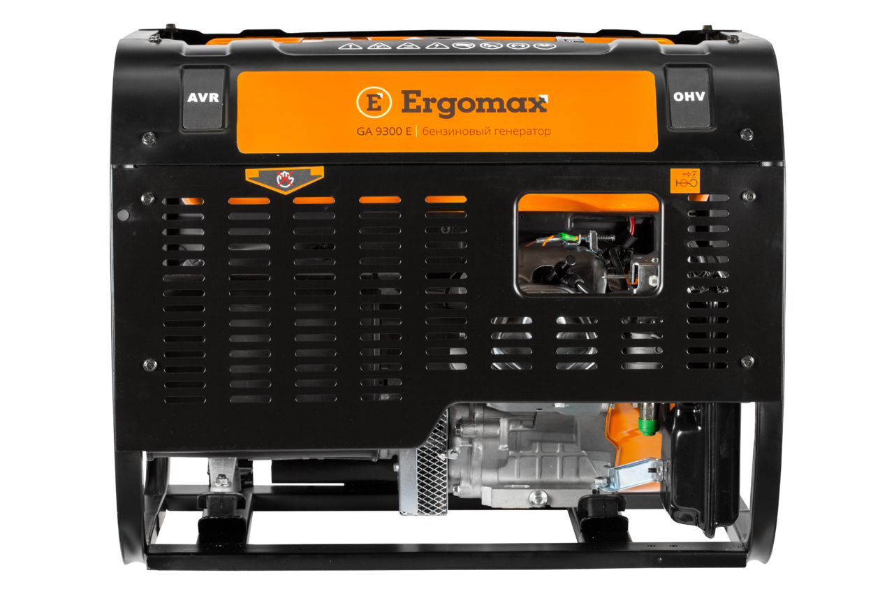 Генератор бензиновый Ergomax GA 9300  бензиновый генератор ergomax ga 1200 00000092334