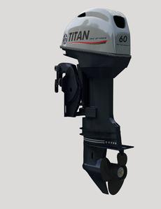 Лодочный мотор 4-х тактный TITAN FTP60AERTL подвесной лодочный мотор б у купить в петербурге