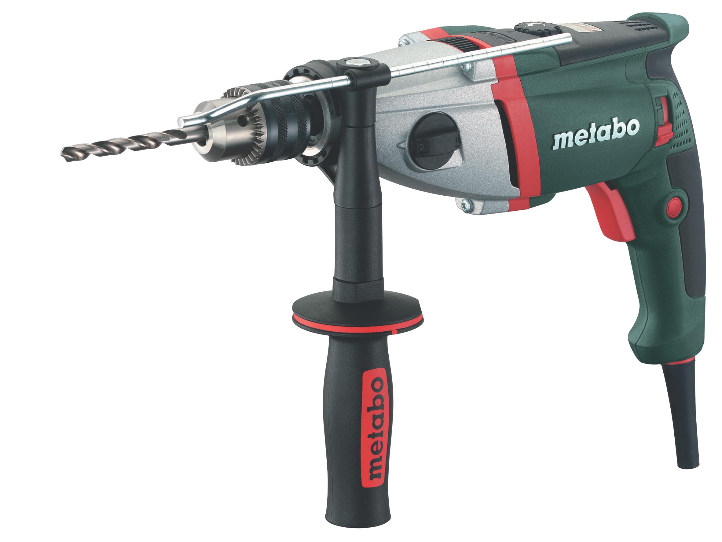 Дрель ударная Metabo SBE 1100 Plus  ударная дрель metabo sbe 1100 plus 600867500