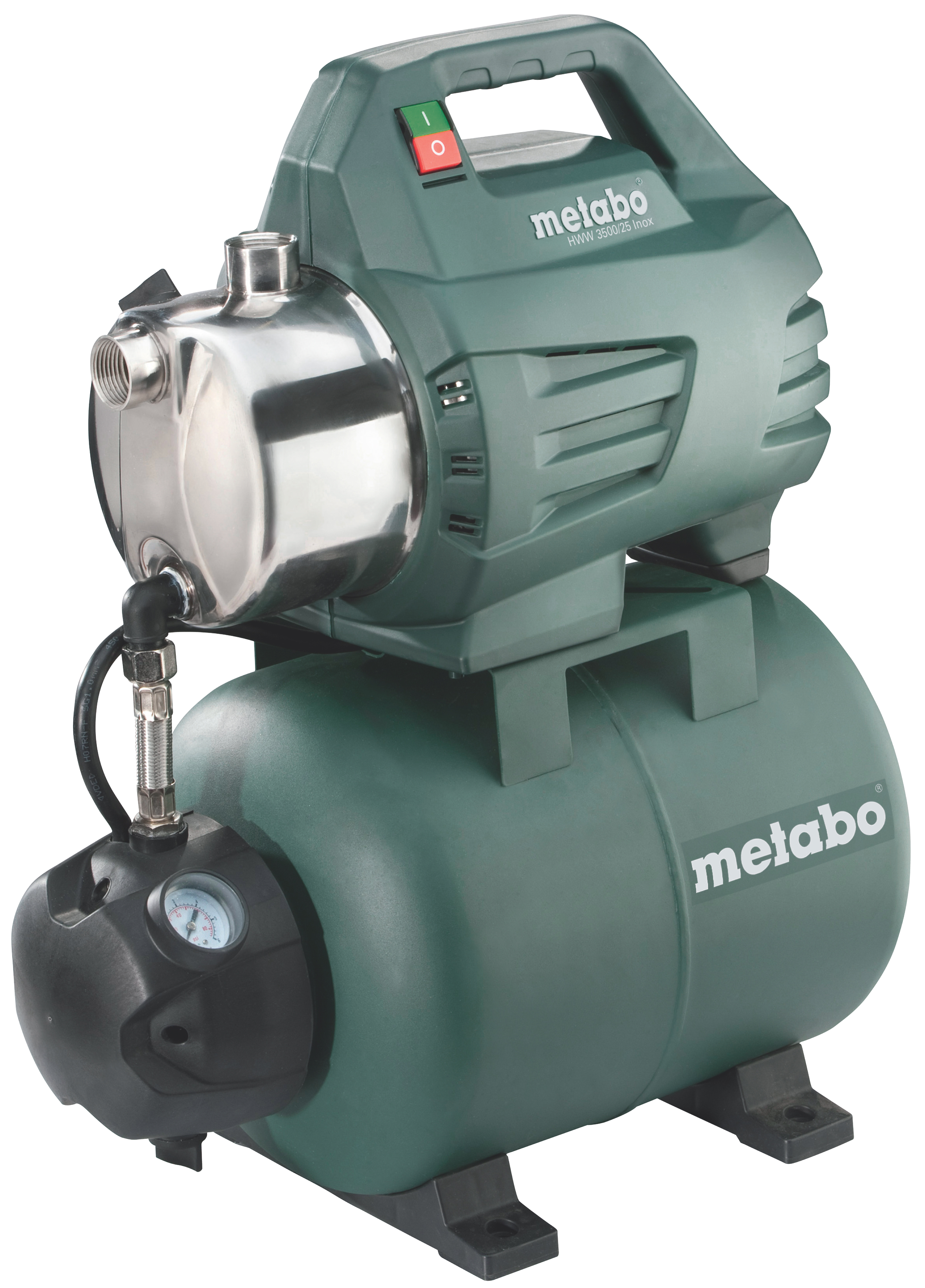Насосная станция Metabo HWW 3500/25 Inox  насосная станция metabo hww 3300 25 g