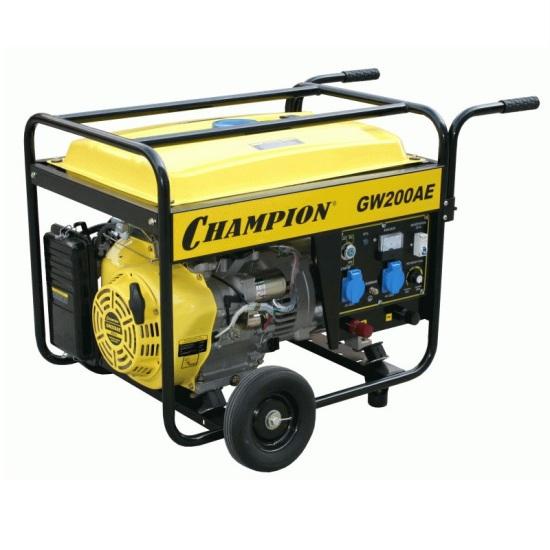 Генератор бензиновый Champion GW200AE бензиновый генератор champion gg1300