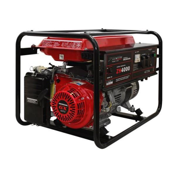 Генератор бензиновый ZENITH ZH4000  генератор бензиновый zenith zh7000 3