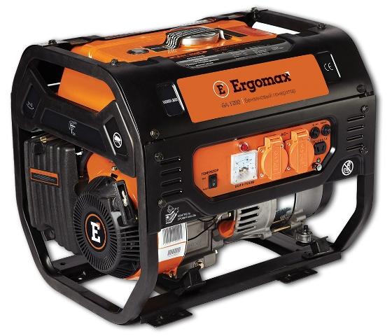 Генератор бензиновый Ergomax GA 1200  генератор бензиновый ergomax ga 950 s2