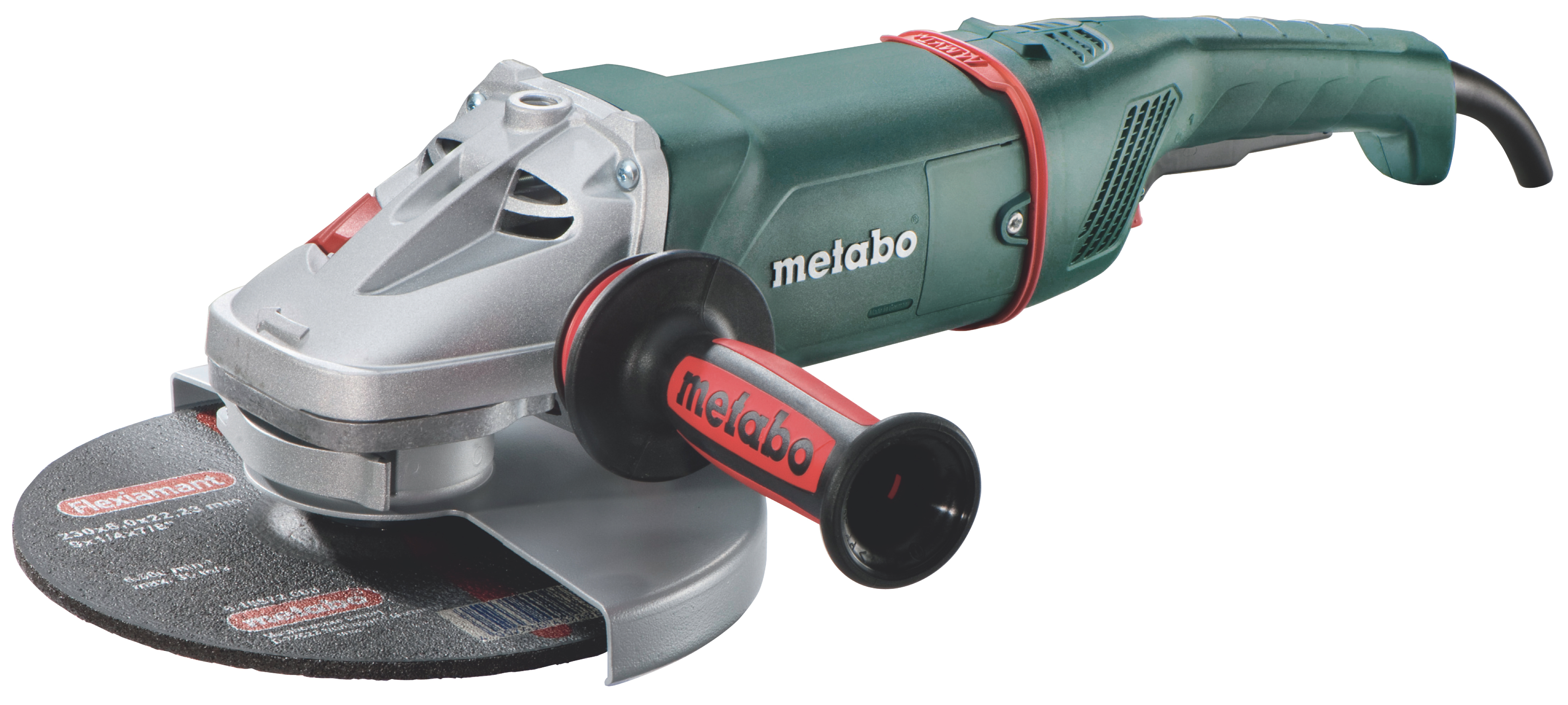 Угловая шлифмашина Metabo W 22-230 MVT  угловая шлифмашина metabo w 26 230 mvt 606474000