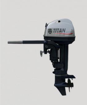 Лодочный мотор 2-х тактный TITAN TP15AMHL