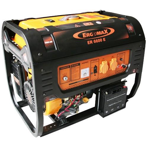 Генератор бензиновый Ergomax ER 6600E  комплект ergomax для er 2800 3400