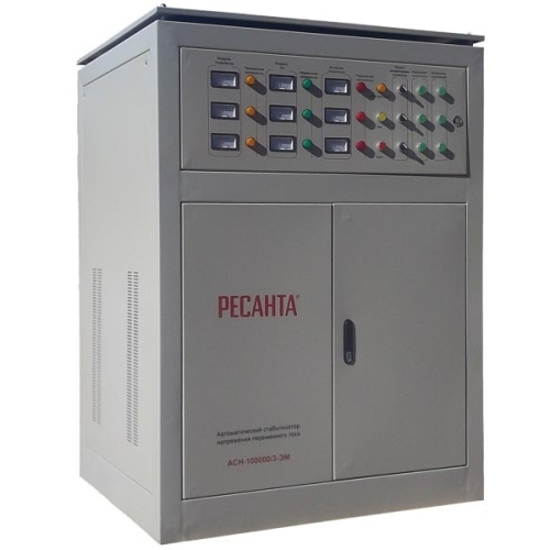 Стабилизатор Ресанта АСН-100000/3-ЭМ