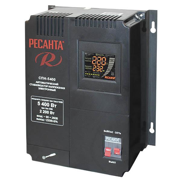 Стабилизатор Ресанта СПН-5400 ресанта спн 900