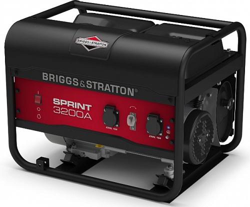 Генератор бензиновый Briggs&Stratton Sprint 3200A  генератор бензиновый briggs