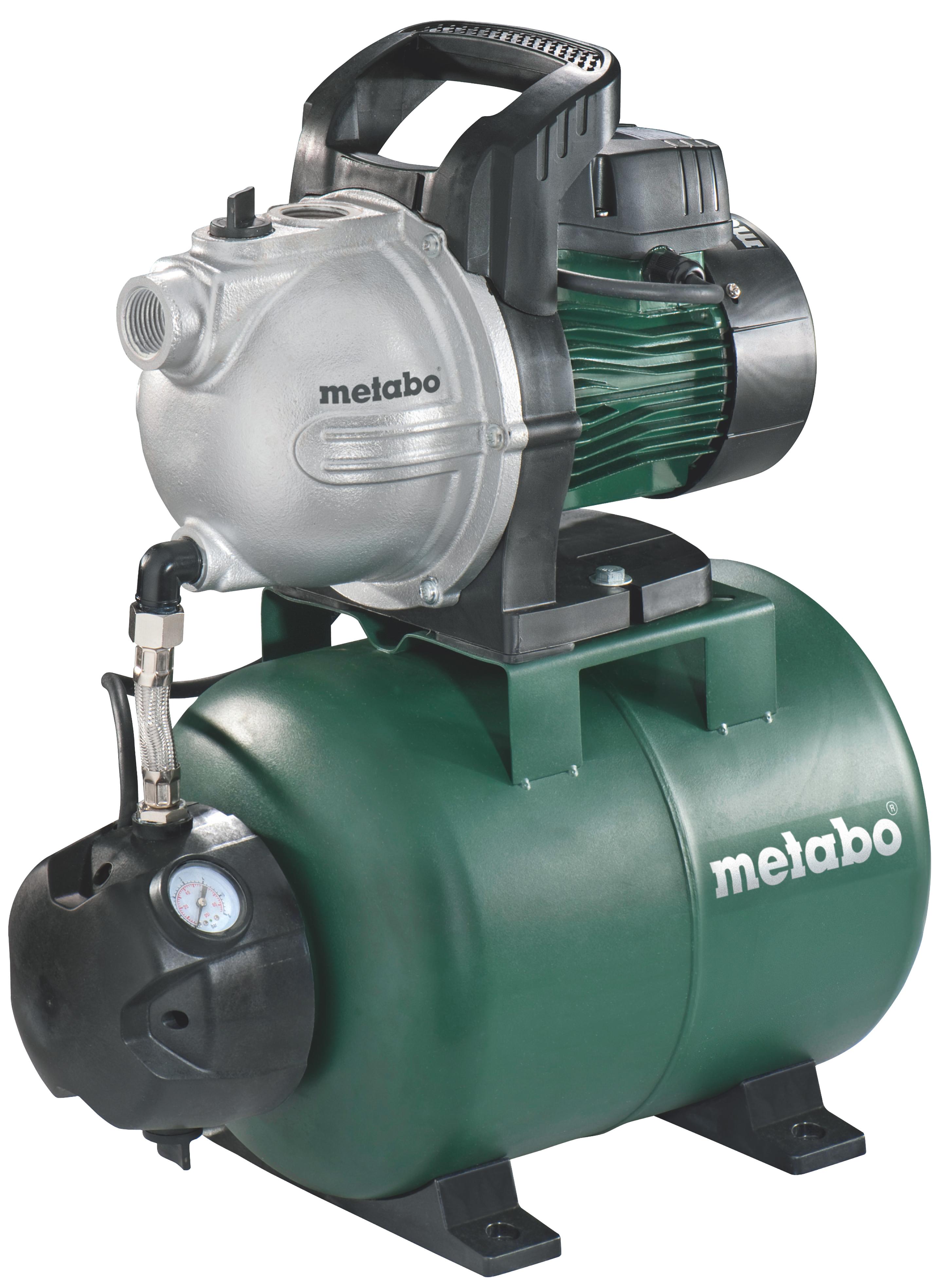 Насосная станция Metabo HWW 4000/25 G  насосная станция metabo hww 3300 25 g