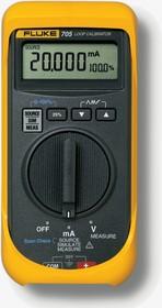 Калибратор токовой петли Fluke 705  калибратор токовой петли fluke 789 e