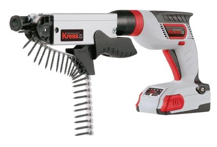 Аккумуляторный шуруповерт для сухих материалов Kress 180 ATBS 2,1 SMV  цены