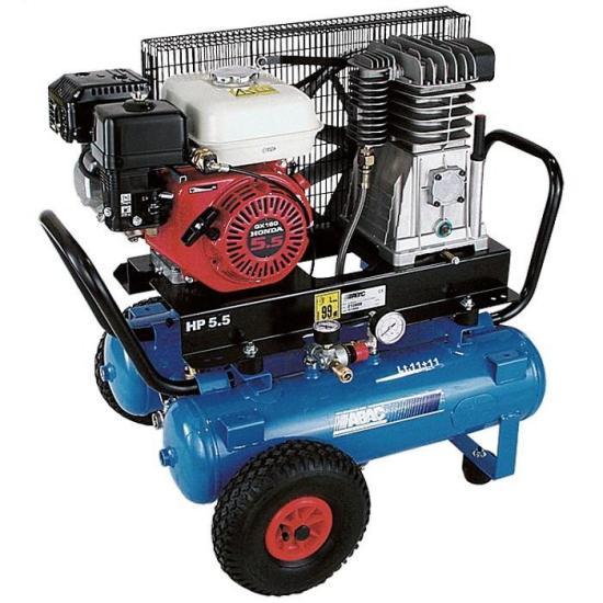 Бензиновый компрессор ABAC EngineAIR А39B/11+11 5HP  бензиновый компрессор abac engineair b4900 270 7hp