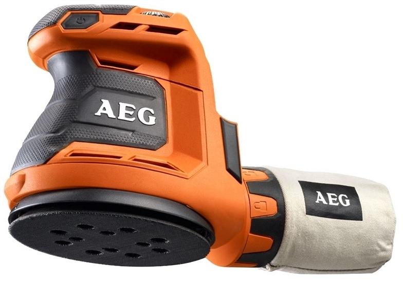 Аккумуляторная эксцентриковая шлифмашина AEG BEX18-125-0  аккумуляторная эксцентриковая шлифмашина aeg bex18 125 0