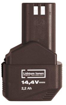 Аккумулятор для пневматического пистолета 144 KAP (14,4 В; 2,2 Ач; Li-Ion) Kress  аккумулятор для дрели шуруповерта 144 afb 14 4 в 2 6 ач li ion kress