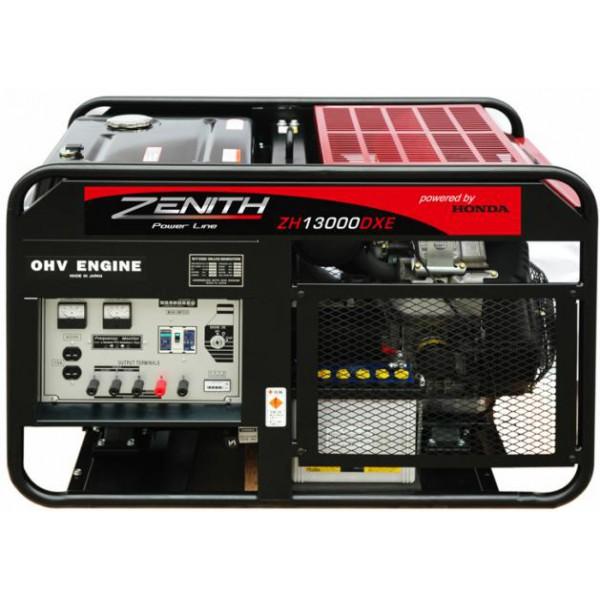 Генератор бензиновый ZENITH  ZH13000DXE  генератор бензиновый zenith zh4000