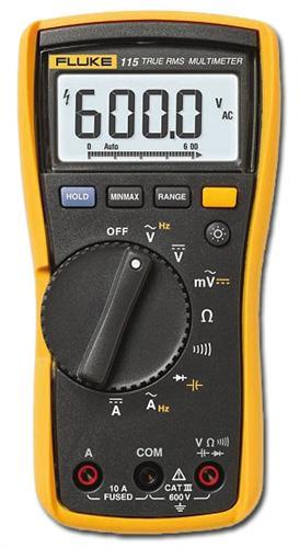 Мультиметр Fluke 115  мультиметр мегометр fluke 1577