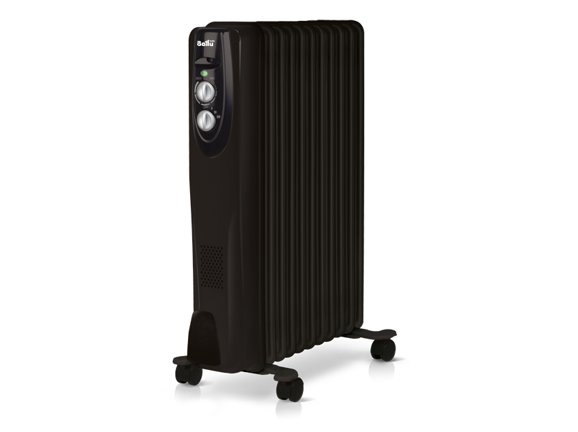 Масляный радиатор Ballu Classic black BOH/CL-11BRN