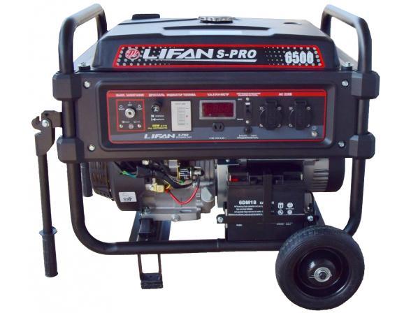 Подробнее о Бензиновый генератор Lifan S-Pro SP 6500 генератор
