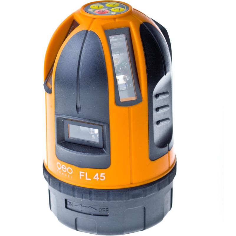 Лазерный линейный нивелир (построитель плоскостей) geo-Fennel FL-45 HP  geo fennel fl 40 pocket ii hp построитель лазерных плоскостей