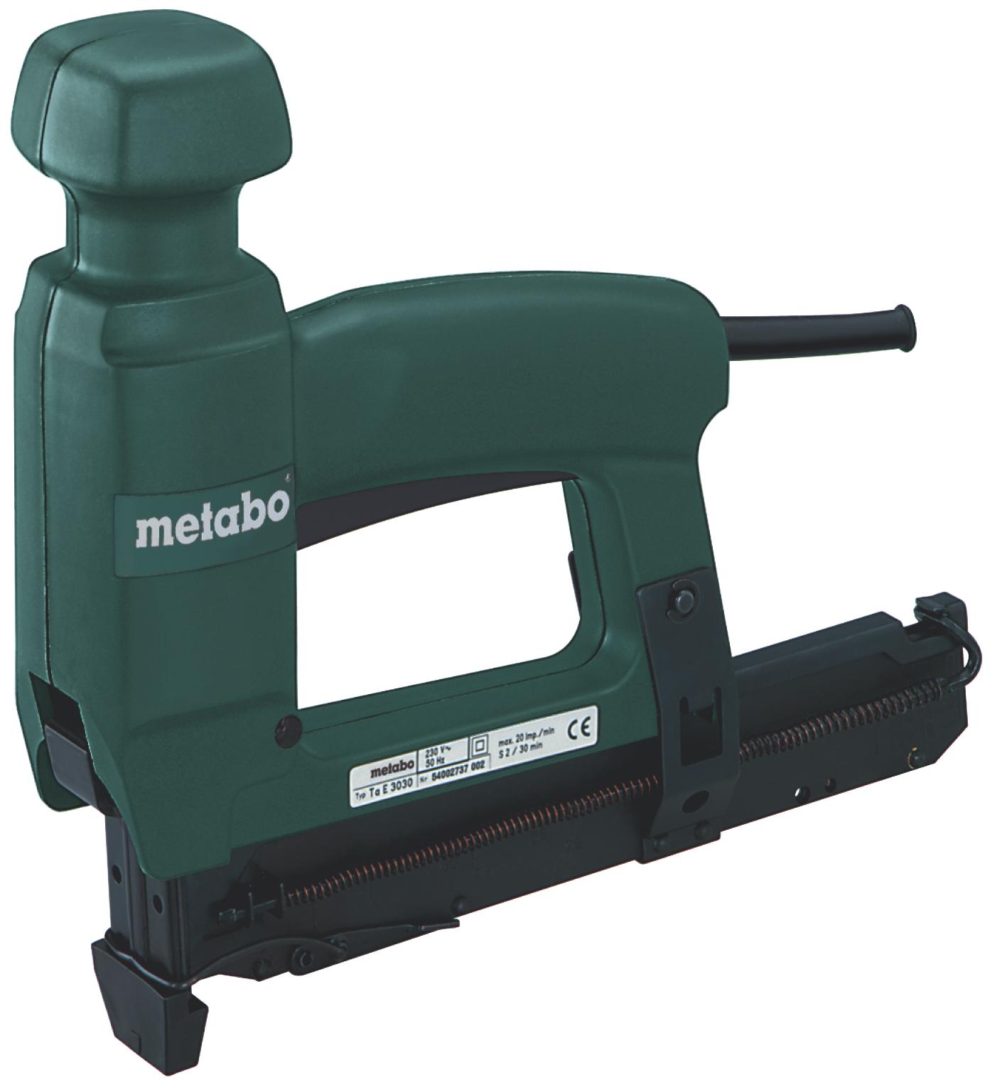 цены  Степлер электрический Metabo TaE 3030