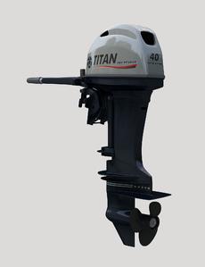Лодочный мотор 2-х тактный TITAN TP40AWHL подвесной лодочный мотор б у купить в петербурге