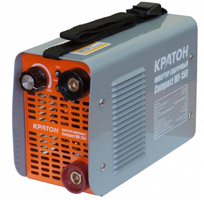 Сварочный инвертор КРАТОН Compact WI-150 кратон power wi 180