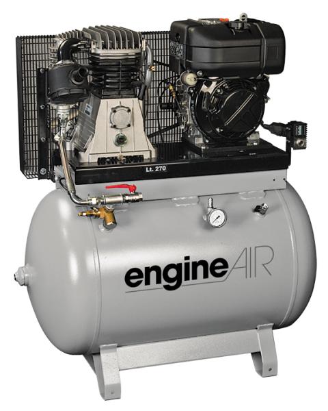 Бензиновый компрессор ABAC EngineAIR B6000/270 11HP  бензиновый компрессор abac engineair b4900 270 7hp