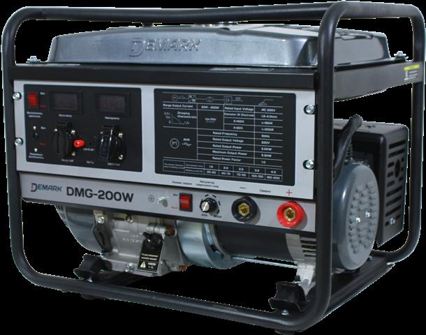 Бензиновый генератор DEMARK DMG 200W  бензиновый генератор demark dmg 8800fe