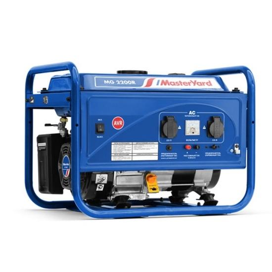 все цены на  Генератор бензиновый MasterYard MG 2200R  онлайн