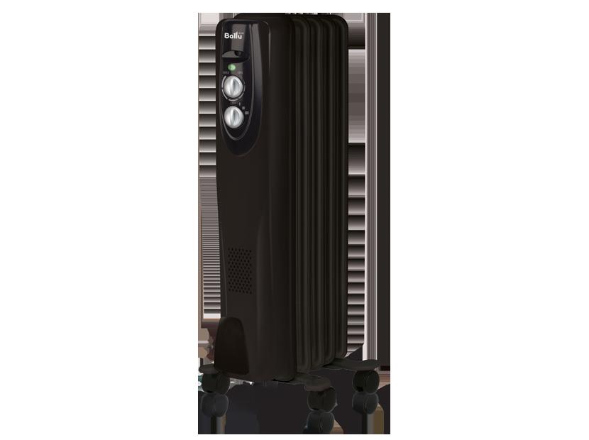 Масляный радиатор Ballu Classic black BOH/CL-05BRN