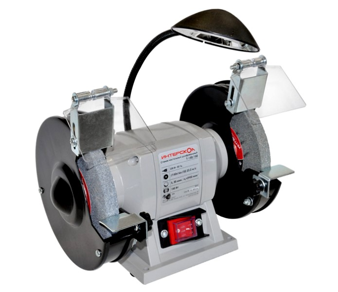 Точильный станок Интерскол Т 150/150 электроточило интерскол т 200 350