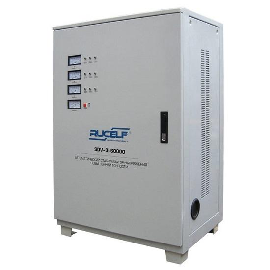 Стабилизатор RUCELF SDV-3-60000