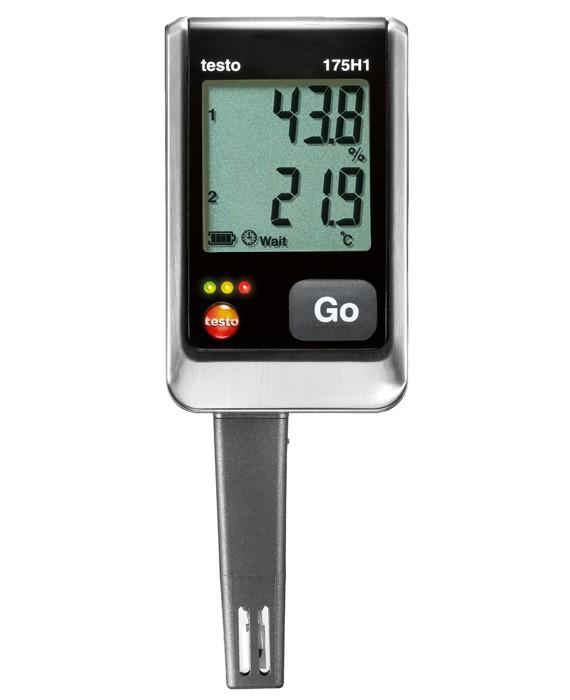 Логгер данных температуры и влажности Testo 175 Н1  2х канальный логгер данных testo 175 t2
