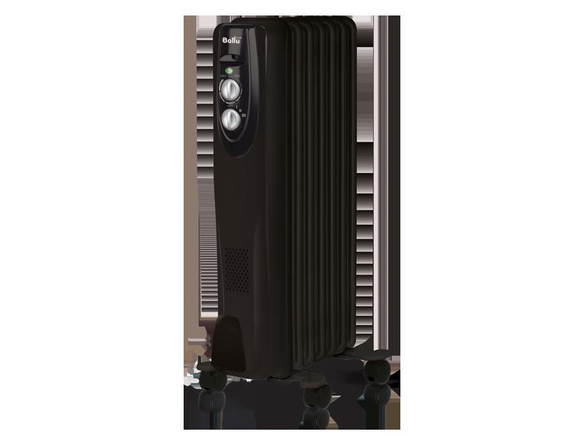 Масляный радиатор Ballu Classic black BOH/CL-07BRN