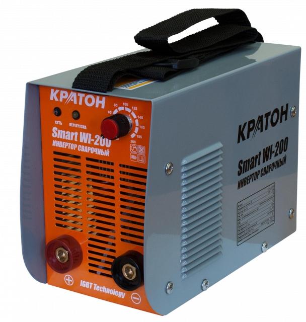 Сварочный инвертор КРАТОН Smart WI-200 кратон smart wi 180