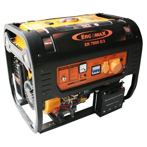 Генератор бензиновый Ergomax ER 7800E/3  комплект ergomax для er 2800 3400