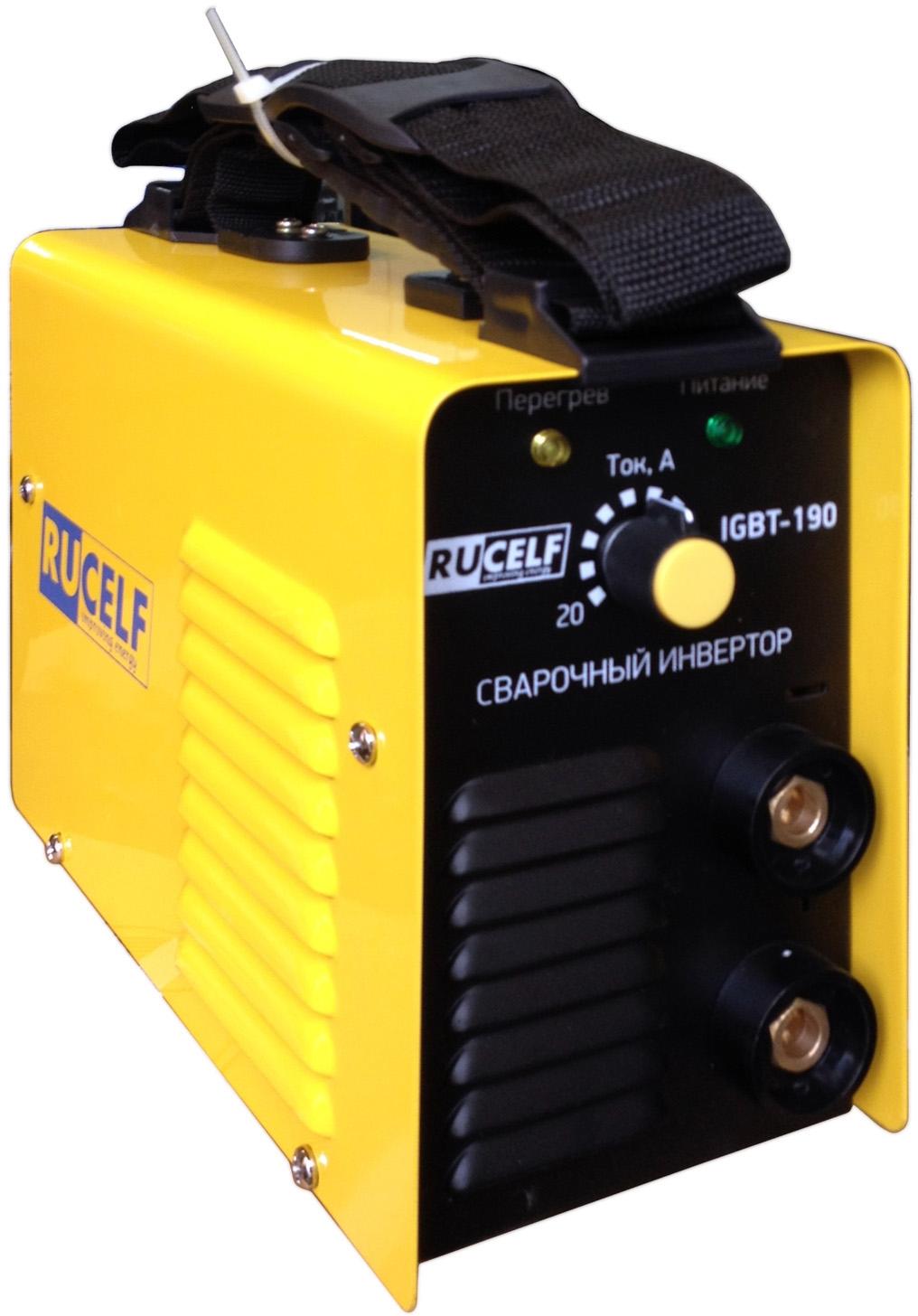 Сварочный инвертор RUCELF IGBT-190  сварочный инвертор rucelf igbt 160 00002052