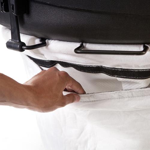 Пылезадерживающий чехол на мешок для пылесосов BILLY GOAT серии QV (арт. 831282)  стандартный мешок для пылесосов billy goat серии qv арт 831612