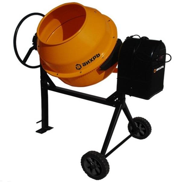 Бетономешалка Вихрь БМ-125  бетономешалка master instrument ми 125 литров перфорированный венец